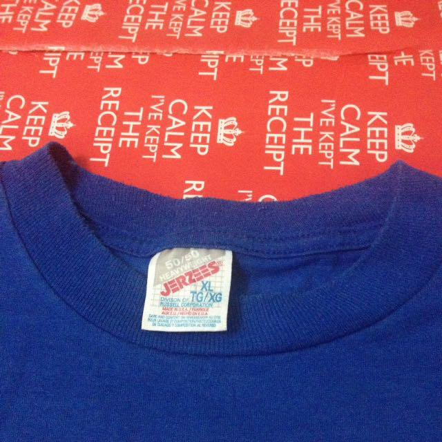 Vtg Augusta Co-ed League Tshirt