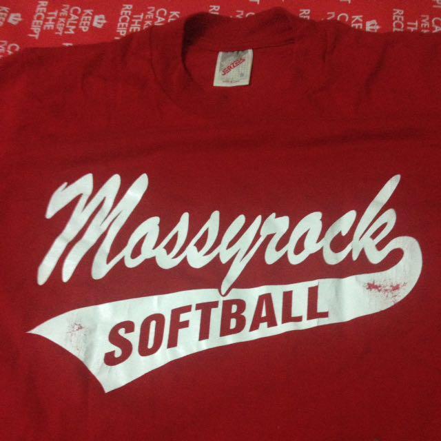 Vtg Mossy Rock Softball