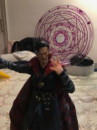 Shf marvel legends effect doctor strange avengers endgame