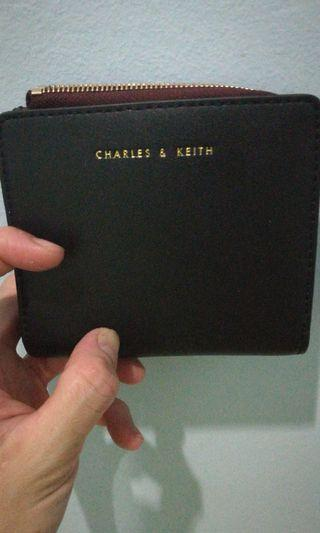 Charles&keith wallet,used only 1weeks,ori price rm169