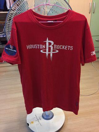 🚚 NBA火箭隊短袖T恤 Size:M