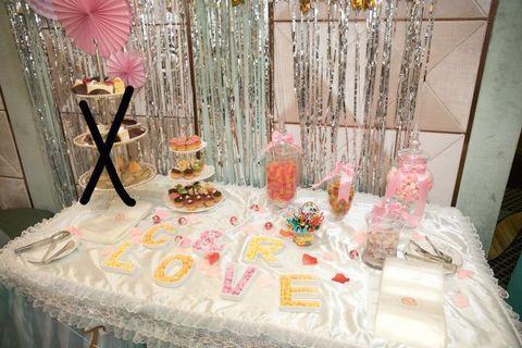 Candy Bar 糖果罐 cup cake 架  m&m LOVE 盤