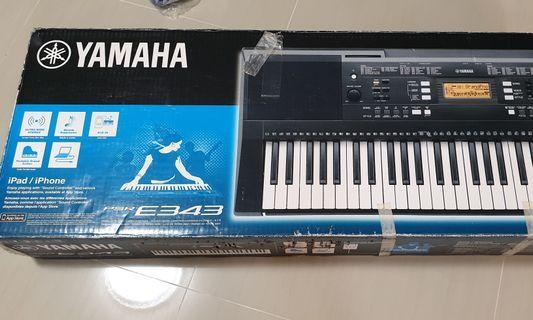🚚 Yamaha PSR E343