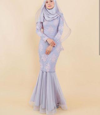 NEW WITH TAG Hijabistahub Premium Lace Kurung