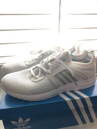 New cloud foam Adidas running shoes