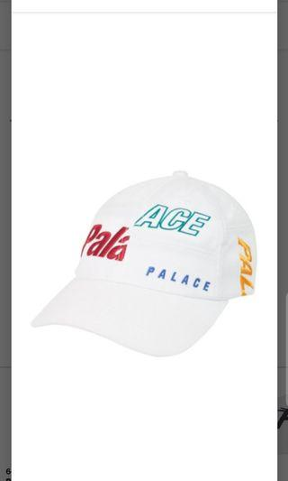 Palace Cap Patch 6-Panel (white)