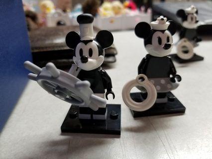 Lego迪士尼米奇一對