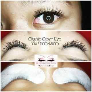 Eyelash Extensions estension extention tanam bulumata bulu mata fake