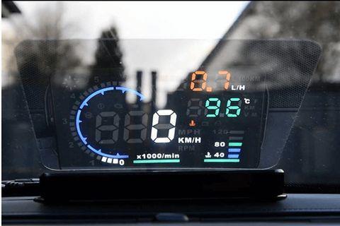 🚚 CAR HUD display