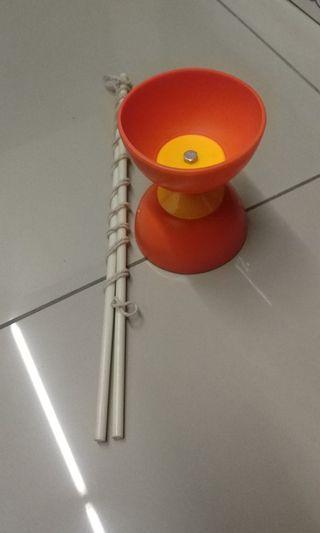 PLASTIC DIABOLO RING