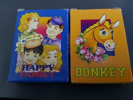 Happy Family & Donkey Card Game Deck