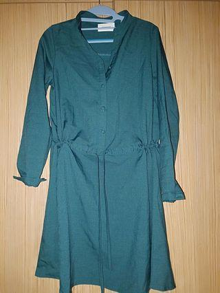 🚚 Dark Green Top/dress