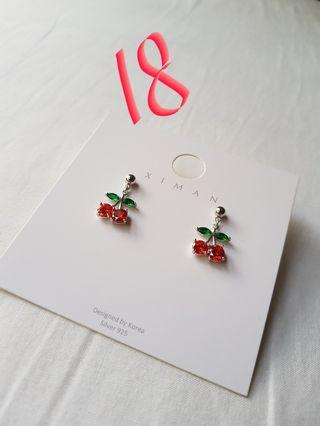 3 pairs Korea Earrings