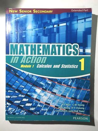 Mathematics in Action Module 1 Calculus and Statistic 1