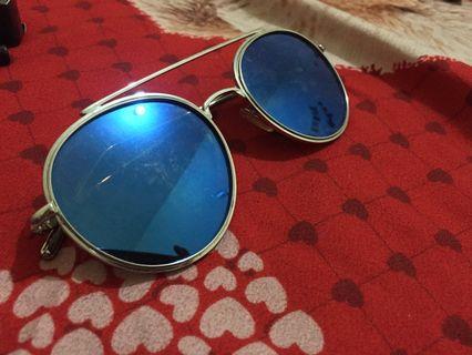 Blue Sunglasses Miniso