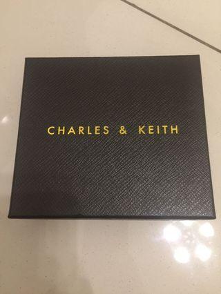 Charles & keith box
