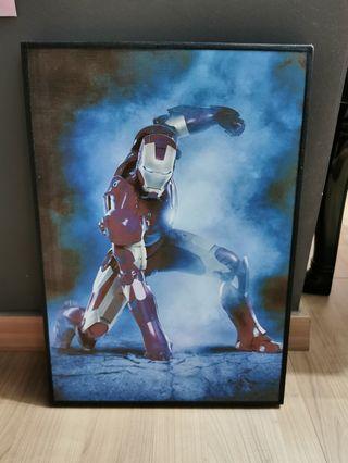 Iron man display frame