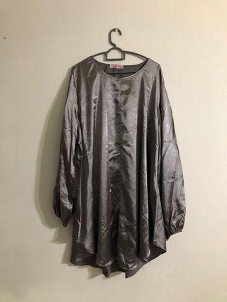 BN Silver Plus Size Top