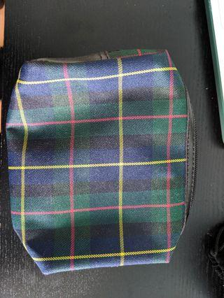 Small plaid bag