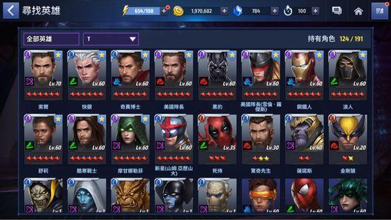 Marvel future fight vip6 T2新星