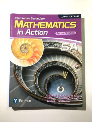 Mathematics in Action 5A