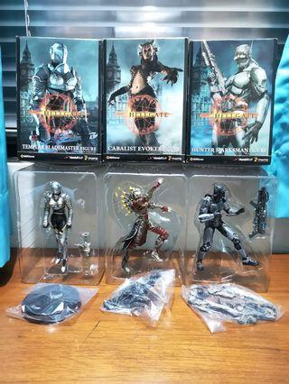 Hellgate: London Figurines - Templar Blademaster, Cabalist Evoker, Hunter Marksman