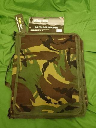 英軍迷彩手提電腦,地圖及文件袋 DPM A4 FOLDER HOLDER Web-tex Military products