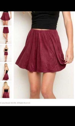 BNWT brandy melville skirt