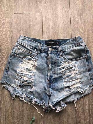 Mink Pink Denim shorts