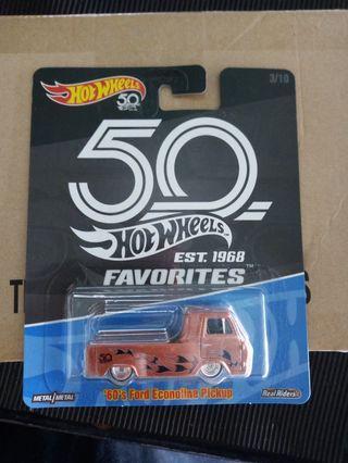Hotwheels 50th econoline