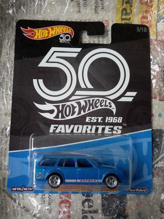 Hotwheels 50th datsun