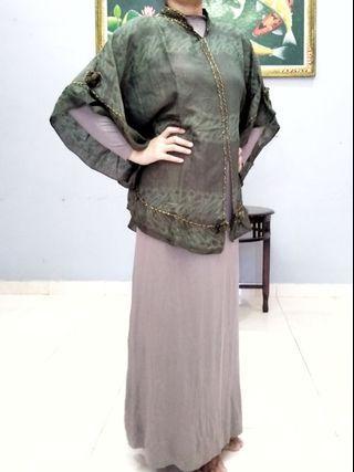 Setelan Baju Muslin / Baju Lebaran