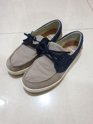 Sepatu Wakai original 100% model Boat shoe ukuran 42 super mint condition