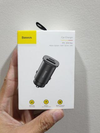Baseus Car Charger PD3.0+QC4.0