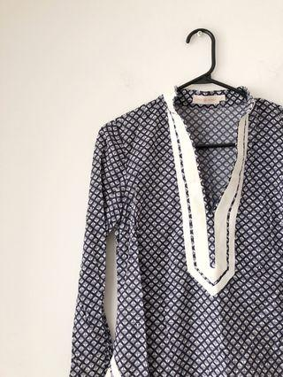Authentic Tory Burch tunic top