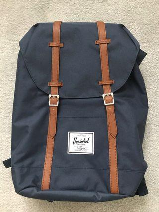 Hershel Retreat Backpack (brand new with tag) navy