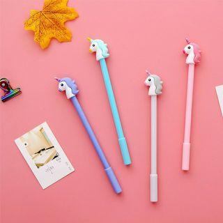 Cute unicorn gel pen (1pc)