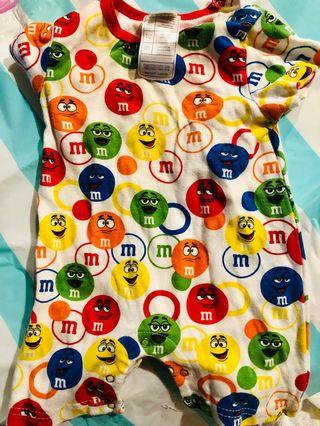 M&M 包屁衣