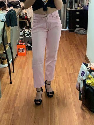 Denim Ankle Pants (S) #GayaRaya