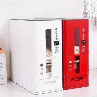 asotv japanese rice dispenser (12kg / 6kg) 0064/0066