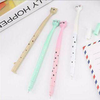 Cute cat gel pen (1pc)