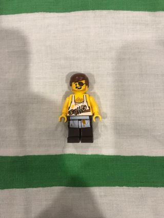 Lego minifigure pirates chef