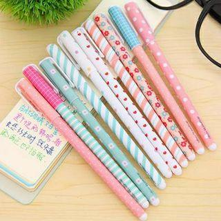 10 pcs colourful gel pen