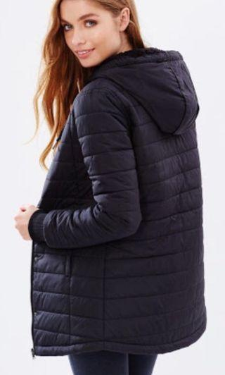 Women's Volcom Drifter Quilted Jacket Black Size 10