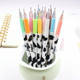 12 pcs cute diamond shape head gel pen