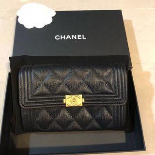 Chanel boy 中夾