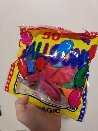 彩色橡膠氣球(堅固型:製作水球用/ 要用氣泵吹)