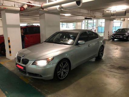 BMW 530 Silver with very low mileage