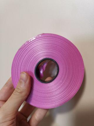 粉紅色尼龍繩/緞帶