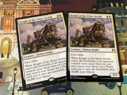 Magic The Gathering - Knight of the White Orchid
